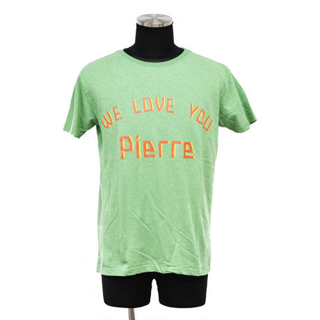 "予約商品【 ARIGATO FAKKYU 】HEMP-T ""WE LOVE YOU Pierre"" ( #1 GREEN )"