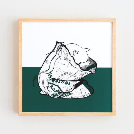 Chartreux × Gunny Sack