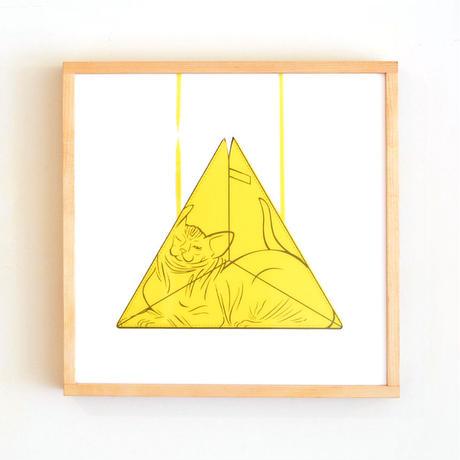 Sphynx × Triangle Bag