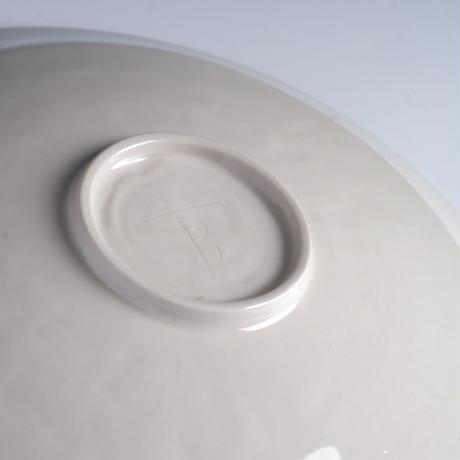 仿定窯折沿皿 PC070