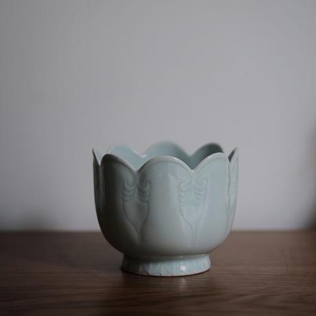 青白磁温酒碗 PW050