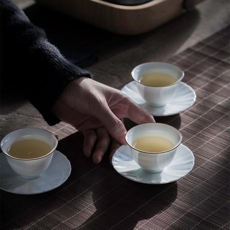 白釉茶杯 PG042