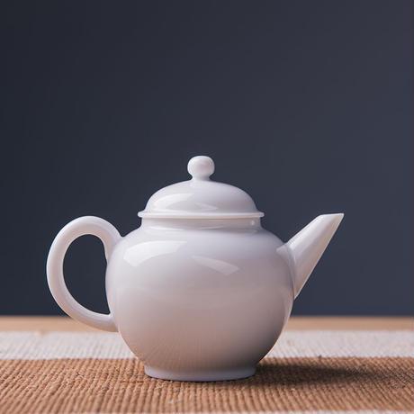 甜白釉茶壺 PG007