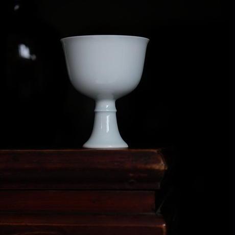 青白磁高足杯 PW020