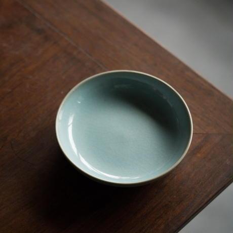 仿汝窯小皿 PA011