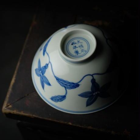 成化款栀子紋碗 PC100