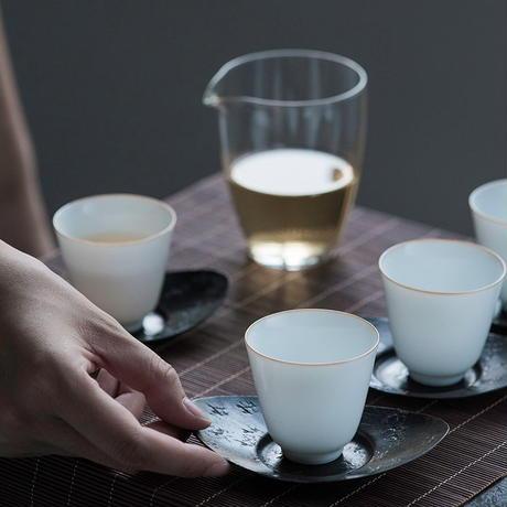 白釉茶杯 PG045