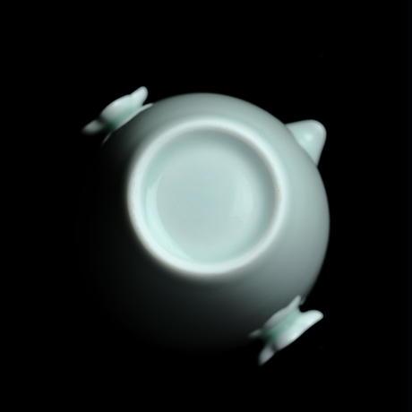 青白磁花耳茶海 PC062