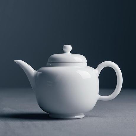 甜白釉茶壺 PG002