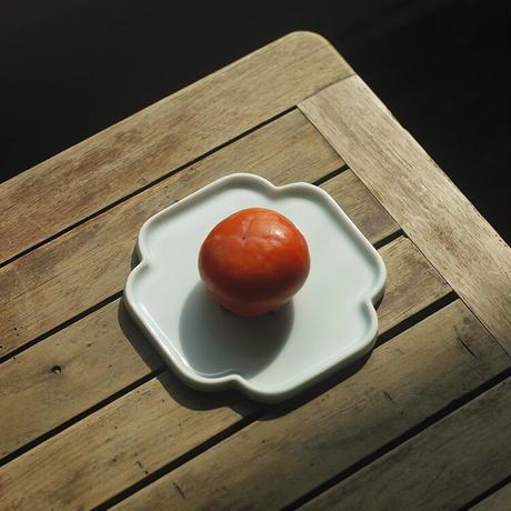 青白磁お皿 蘇州園林 PS007