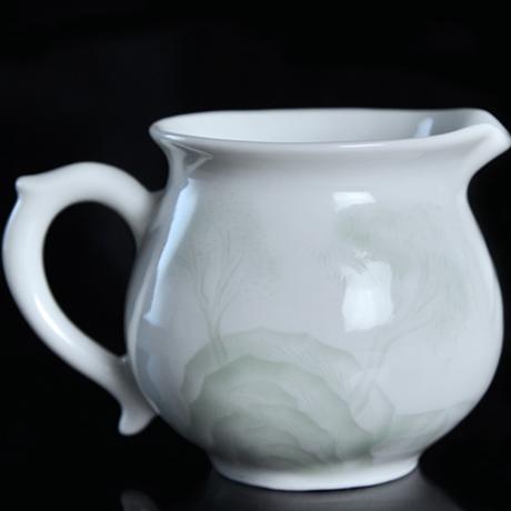 青白磁茶海 山水 PC024
