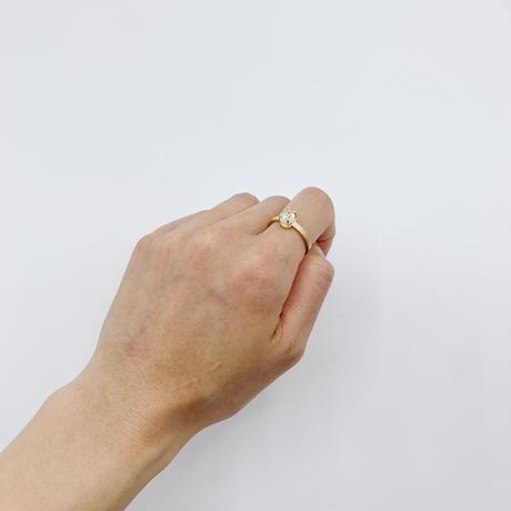 Crystal world ring 05 K18