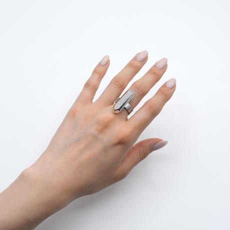 Crystal world ring 07