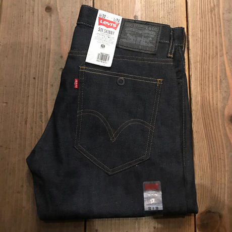 NEW US企画 Levis511 skinny denim pants