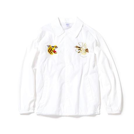 Souvenir Coach Jacket/White
