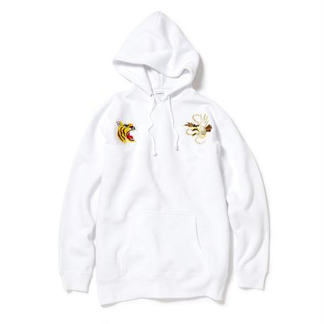 Souvenir Pullover Hoody/White