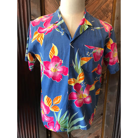 80s OP (ocean pacific)cotton shirt (USED)