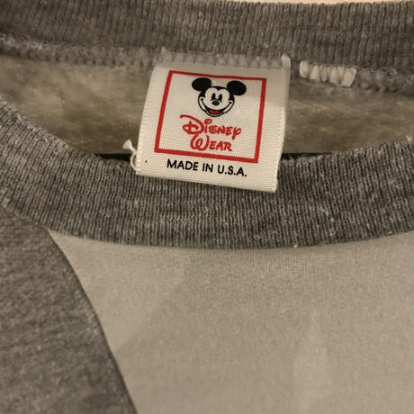 80s~90s OLD Mickey sweatshirt