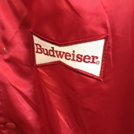 80s~Budweiser nylon jacket (used)