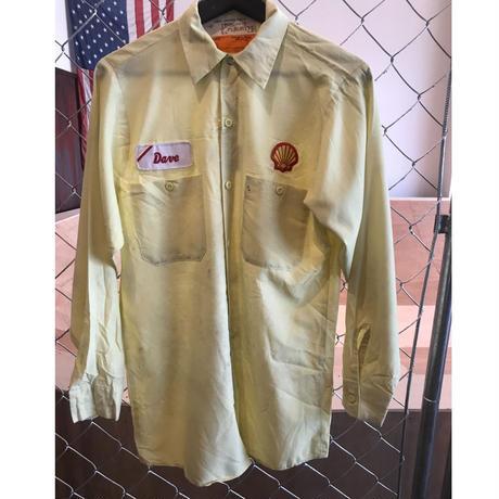 80s~SELL work shirt USA製 (used)