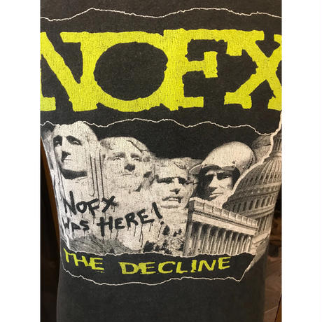 00s NOFX band T- shirt(USED)