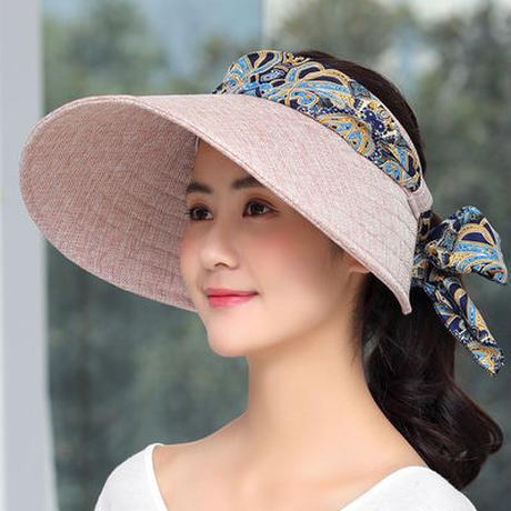 帽子/レディース/UVカット/綿素材のオシャレなUVハット/小顔効果/紫外線/100%カット/日よけ帽子/紫外線対策/つば広ハット
