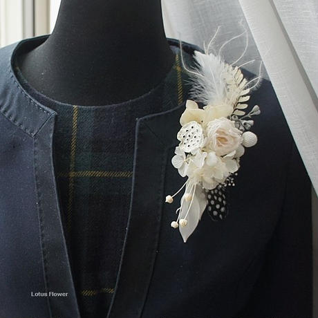 French Marianne's corsage