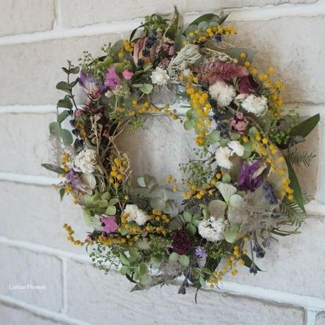 Spring wreath B