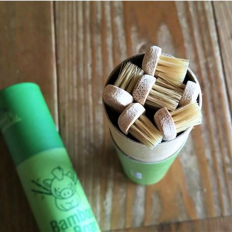 <世界でも稀に見る>完全プラスチックフリーの竹歯ブラシ