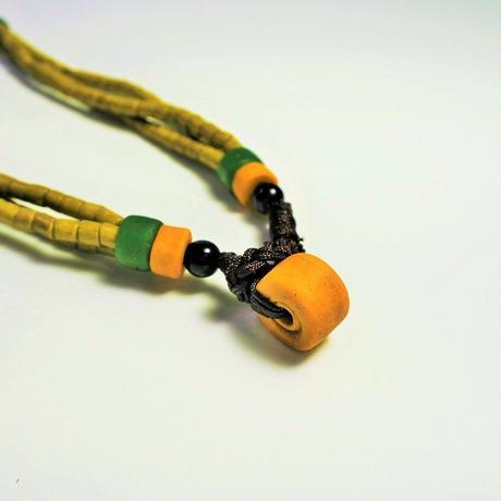 蜻蜓雅築珠芸工作室*パイワン族の3連ネックレス