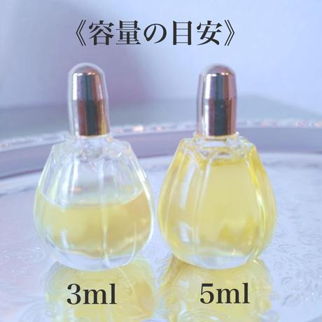 Purification  〜女性のためのクリアリング香油 3mlフラワーボトル