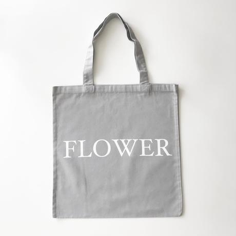 FLOWER TOTE BAG グレー