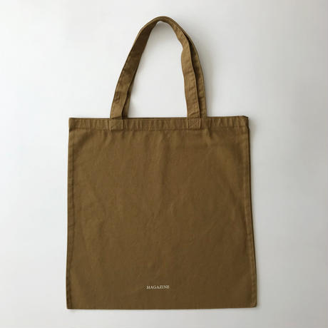 FLOWER TOTE BAG ブラウン