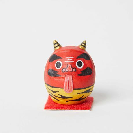 豆だるま / 赤鬼 Mini Daruma Red Demon
