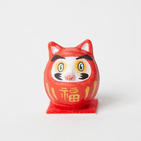 豆だるま / 猫 Mini Daruma Cat