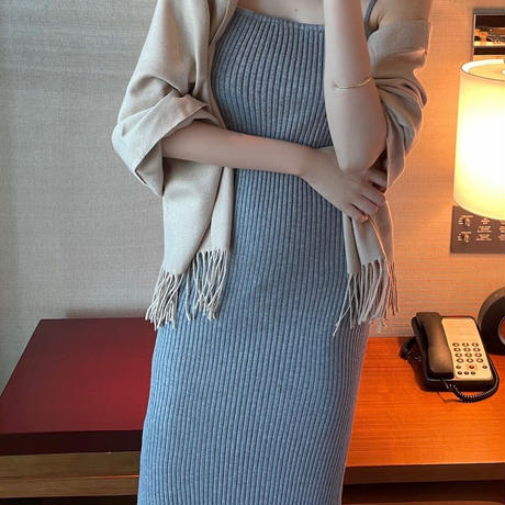 knit set onepiece psr02