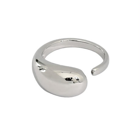 【ゆうパケ対象】silver925 drop design  ring