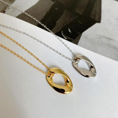 【ゆうパケ対象】silver925 変形necklace