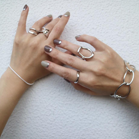 silver入荷【ゆうパケ対象】silver925 wave design ring
