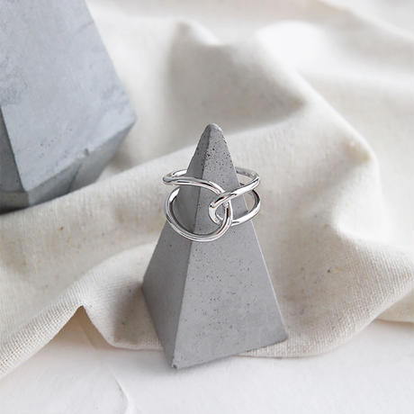 【ゆうパケ対象】silver925 cross design ring