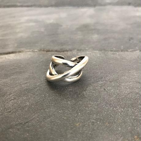 【ゆうパケ対象】silver925 design cross ring