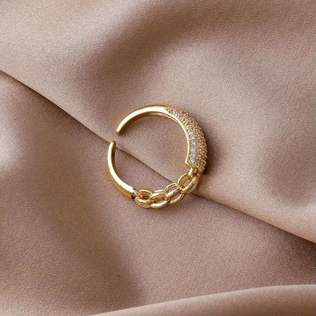 chain design ring