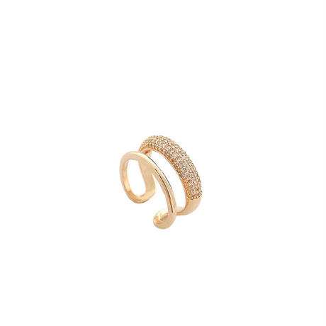 double design ring