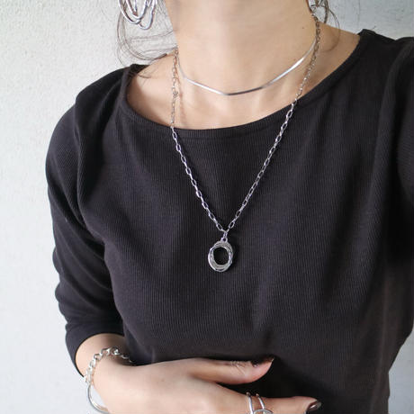 silver925 snake chain necklace
