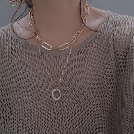 【ゆうパケ対象】chain necklace set