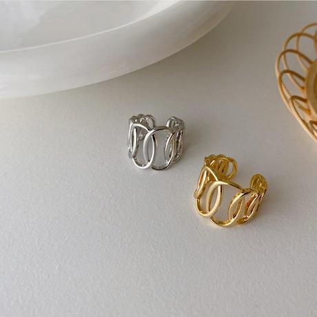 【silver入荷】oval motif ring