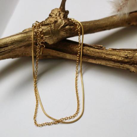 silver925 2連bracelet