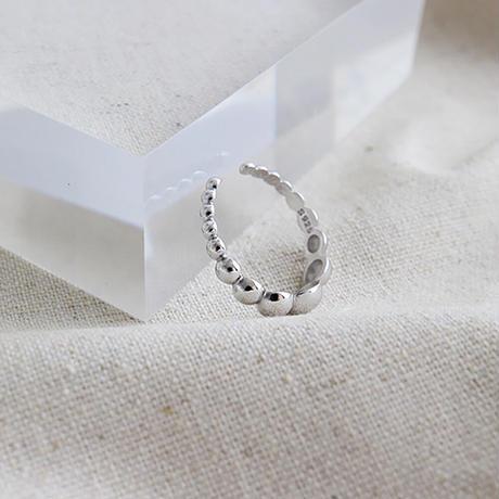 silver 925  デザインボールリング