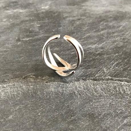 【ゆうパケ対象】silver925 design cross ring