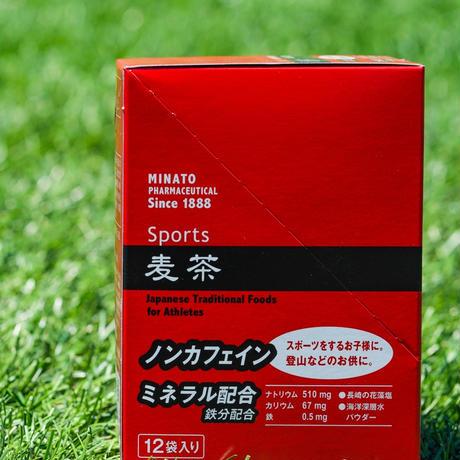 【 500ml 用 ×12袋 】ミナト製薬の麦茶(スポーツ用)